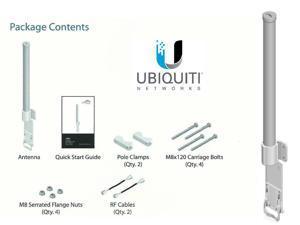 Ubiquiti AMO-5G13 AirMax Omni Antenna 5GHz 13dBi 360 Degree Integrates RocketM5
