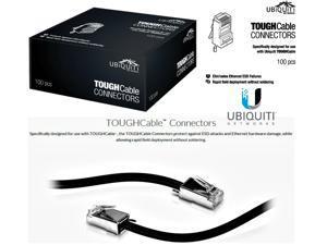 Ubiquiti TOUGHCable TC-CON-100 RJ45 8P8C Male Connectors 100 Piece TC-Con