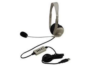 Califone 3064AV-USB Supra-aural Multimedia Stereo Headset