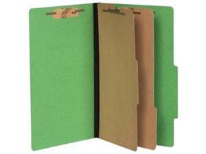 "Acco 16665  Presstex ColorLife Classification Folder 8.50"" Width x 14"" Length Sheet Size - 3"" Expansion - 6 Pockets - 2 Dividers, ..."