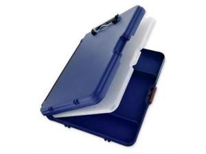 """Saunders 00475 Workmate II Storage Clipboard, 6 x Compartment for Stationary Storage - 10.66"""" x 13.40"""" - Low-profile - Polypropylene - Blue"""