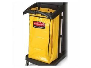 Rubbermaid Commercial Products RCP9T8000YW High-Capacity Vinyl Bag- for 9T72- 10-.50in.x33in.x17-.50in.- Yellow