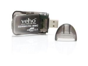 Veho VSD-001 Flash Reader USB 2.0 SD-USB Card Reader