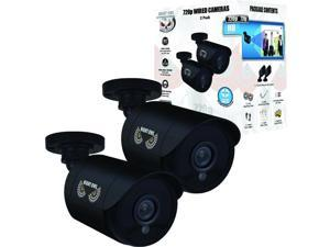 Night Owl 2 Pack of 720p HD Wired Security Add-on Bullet Cameras