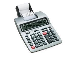 Hr-100Tm Two-Color Portable Printing Calculator, Black/Red Print, 2 Li