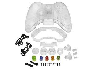 Crystal Shell for Microsoft Xbox 360 Wireless Controller , Clear