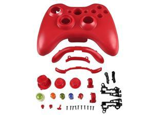 Shell for Microsoft Xbox 360 Wireless Controller , Red