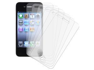 eForCity iPhone 4/4S Screen Protector - [6-Pack] Anti-Glare Matte LCD Screen Protector Guard Film Shield For Apple iPhone ...
