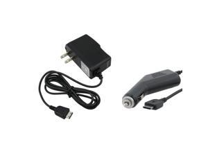 Car+Wall Cell Phone Charger Compatible With Samsung© M340 Mantra