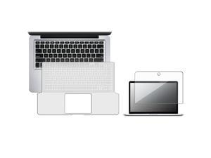 "eForCity Clear Full 13.3"" Keyboard Silicone Skin + 13.3"" Screen Protector For Apple® Macbook Pro 13"