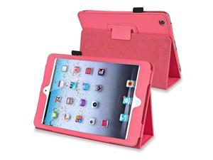 eForCity Leather Case Cover with Stand for Apple iPad Mini 1 / Apple iPad Mini 2 / iPad Mini with Retina Display (iPad Mini ...