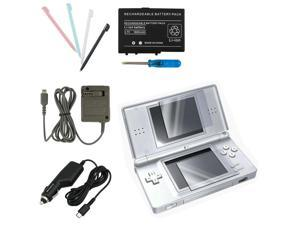 5-Pack Accessory Bundle Charger For Nintendo DS Lite