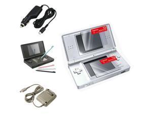 4 Accessory Bundle Charger Set For Nintendo DS Lite