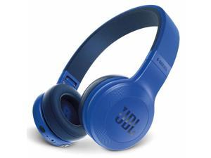 JBL E45BT Wireless On-Ear Headphones with One-Button Remote and Mic (Blue)