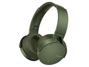 Sony MDR-XB950N1 Wireless Noise-Cancelling EXTRA BASS Headphones with Mic (Green)