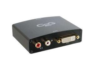 C2G DVI-D and Stereo Audio to HDMI Converter