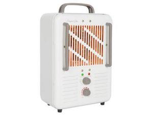 World Marketing EUH352 Comfort Glow Milkhouse Style Electric Heater with 3-prong Grounded Cord