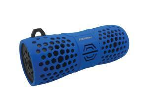 SYLVANIA SP332 -BLUE Water-Resistant Portable Bluetooth(R) Speaker (Blue)