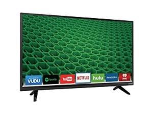 "VIZIO D D40-D1 40"" 1080p LED-LCD TV - 16:9 - Black - 176° / 176° - 1920 x 1080 - DTS Studio Sound, DTS TruVolume - 16 W RMS - Full Array LED - Smart TV - 2 x HDMI - USB - Ethernet - ..."