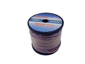 Seismic Audio - SA-SW100-14 - 100 Foot Spool of Speaker Wire - 14 Gauge - New - Home Audio