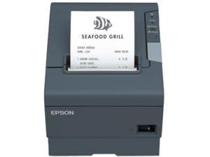 Epson C31CA85A9982 TM-T88V POS Thermal Receipt Printer - Gray, USB , External Power Supply (PS-180)