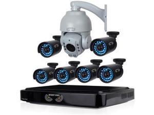 Night Owl AHD B-A720-81-6-1PTZ Video Surveillance System