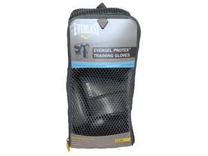 Everlast Protex2 Gel 14OZ Training Gloves Black 3114GL