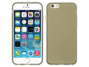 DreamWireless HEFOGIP6SMWT Apple iPhone6 4.7 In. Foggy Case - Smoke Tinted With White Trim
