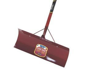 "Nordic Snow Pusher, w/Poly D-Grip, 24"" W x 10"" L, Stamped Steel GARANT INC"