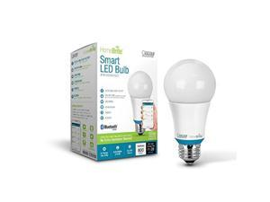 60W Equivalent 2700K A19 Dimmable Bluetooth Smart Led Light Bulb, Soft White