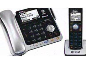 AtandT CL84102 Corded Cordless Phone System With Answering System, Caller Id  ...