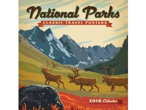 National Parks Wall Calendar by Zebra Publishing