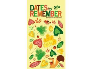 Dates to Remember Perpetual Calendar by Zebra Publishing