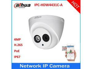 Dahua IPC-HDW4431C-A HD 4MP PoE Built-in Mic IR Dome Network Security IP Camera