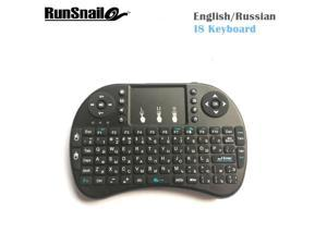 9e78f754fa3 Russian Mini i8 Wireless Keyboard 2.4GHz Russian letters Air Mouse Remote  Control Touchpad For Android Tv Box Notebook Tablet Pc