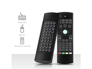 3f036eadacd 3 in 1 Multi-function TZ MX3 2.4GHz Air Mouse Backlight Wireless Keyboard  Infrared Universal Remote Control For Smart TV TV Box