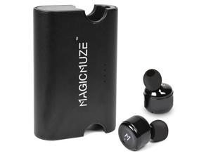 MagicMuze Elite Truly Wireless Stereo Earbuds w/Charging Case & 3 Sets of Ear Tips (Black)