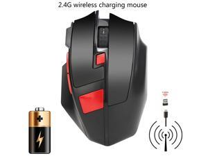 Rechargeable USB Wireless 1600DPI 6D Optical Gaming Mouse Mice For PC Laptop