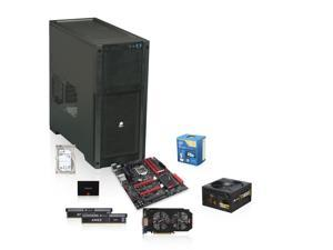 Intel Core i5-4670K 3.4GHz Quad-Core CPU, ASUS MAXIMUS VI HERO Motherboard, CORSAIR 16GB DDR3 1600 Memory, SAMSUNG 840 Pro ...
