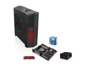 Rosewill THRONE Black Gaming ATX Full Tower, Rosewill TACHYON 1000W PSU, Intel Core i7 Haswell 3.5GHZ Quad-Core CPU, ASUS ...