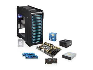 Intel Core i5 Haswell 3.4GHz Quad-Core CPU, ASUS Z87-A MOBO, ASUS GTX 660 2GB, G.SKILL Ripjaws 8GB MEM, Seagate 1TB HDD, ...