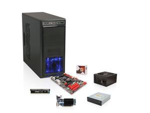 AMD FX-4300 Processor, BIOSTAR TA970 MB, CORSAIR 4GB MEM, SAPPHIRE Radeon HD 5450 1GB Video Card, SAMSUNG DVD Burner, Rosewill ...