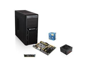 Intel Core i5-4670K Haswell 3.4GHz, ASUS Z87-A HDMI USB 3.0 MB, 4GB DDR3 1333 Mem, ...