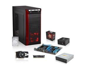 AMD FX-8350 Vishera Eight-Core CPU, ASUS M5A97 AM3+ Motherboard, CORSAIR 8GB MEM, PowerColor Radeon HD 7870 2GB, Seagate ...