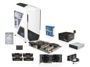 NZXT Phantom 530 White Case, Seasonic 850W, ASUS Sabertooth X79, Intel Core i7-4820K 3.7GHz Quad Core, Corsair H100i, EVGA ...