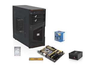 Intel Core i7-4770 Haswell 3.4GHz Quad-Core CPU, ASUS Z87 MOBO, Crucial 8GB MEM, Seagate 1TB HDD, Rosewill Stallion 700W ...
