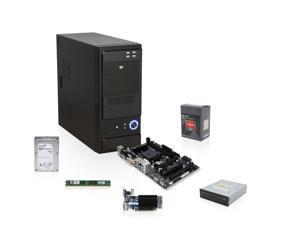Pioneer Series EAG-3140K: AMD Athlon X4 750K 3.4GHz Quad Core, 4GB RAM, A88X Motherboard, 1TB Hard Drive, Sapphire HD 5450 ...