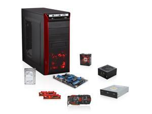 Redbone Gaming Series GAA-9140M: AMD FX-8350 4.4 GHz Eight-Core, 990FX, Radeon R9 270X, Ripjaws X 8GB MEM, 1TB HDD, 24X DVD ...