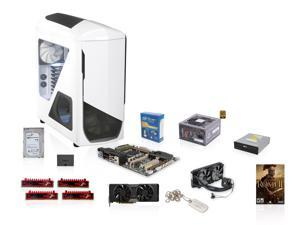 Intel Core i7-4820K 3.7GHz Quad Core, NZXT Phantom 530, XFX 850W PSU, Asus X79 MB, Corsair H100i, EVGA GTX 780 3GB, G.SKILL ...