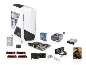 Intel Core i7-4820K 3.7GHz Quad Core, NZXT Phantom 530, XFX 850W PSU, Asus X79 MB, Corsair H100i, EVGA GTX 780 3GB, G.SKILL ...